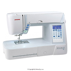 Multifunctional sewing machine, 399 programs - JANOME SKYLINE S3