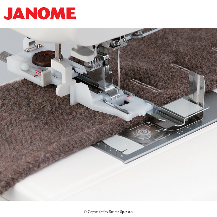 JANOME SKYLINE S3 - Multifunctional sewing machine, 399 programs