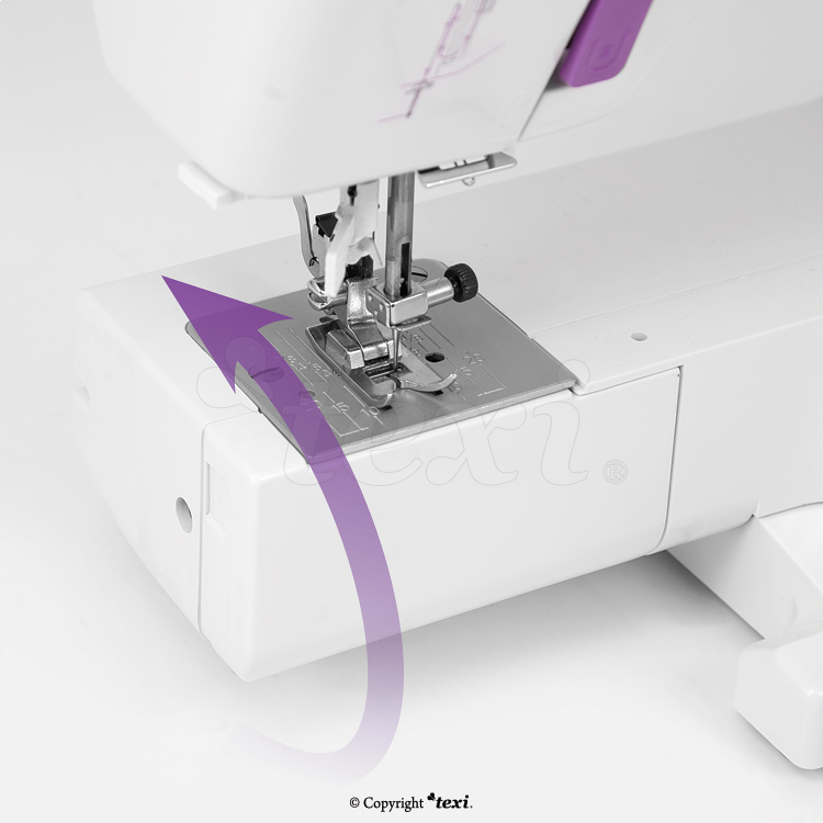 Multifunctional mechanical sewing machine, 25 stitches - TEXI JOY 25