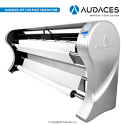 2-head plotter, printing speed: 70 m2/h, printing width up to 185 cm, with free print function - 3 - AUDACES Jet Lux Plus 185cm/70m