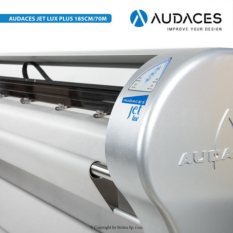 4 - AUDACES Jet Lux Plus 185cm/70m - 2-head plotter, printing speed: 70 m2/h, printing width up to 185 cm, with free print function