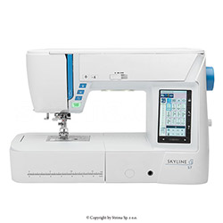 Multifunctional sewing machine, 580 programs - JANOME SKYLINE S7
