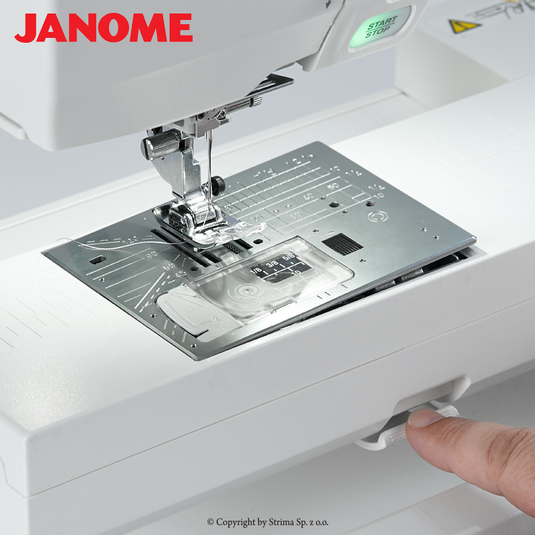 Computerized sewing and embroidering machine