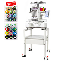 Embroidery machine - 1-head, 10-needle