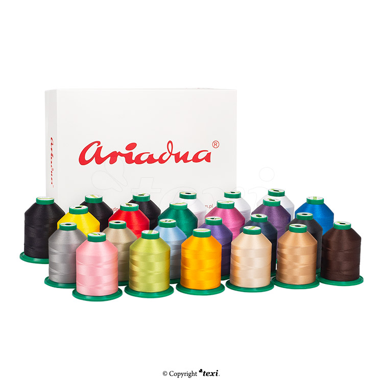 Compact, one-head, ten-needle embroidery machine