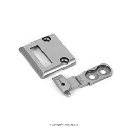 Needle plate and feed dog (set) standard for TEXI HD CILINDRO, PFAFF 335