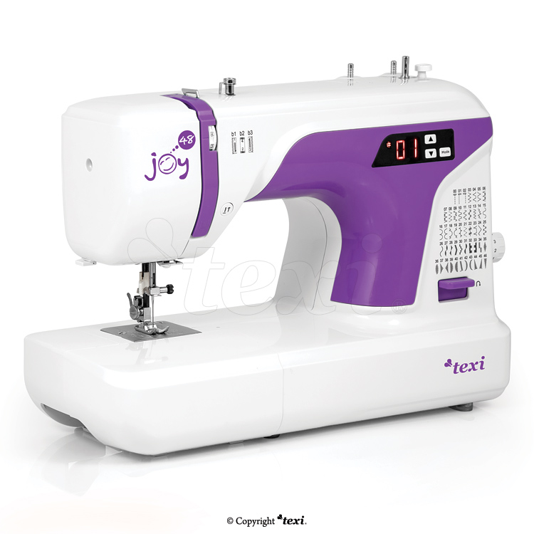 Multifunctional mechanical sewing machine, 48 stitches - TEXI JOY 48