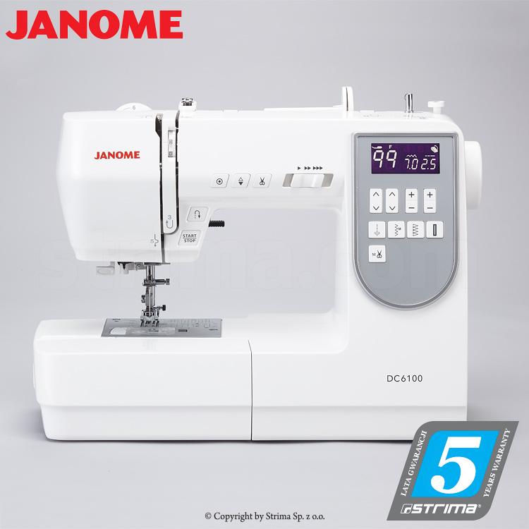 Computerized Sewing Machine Janome Dc6100