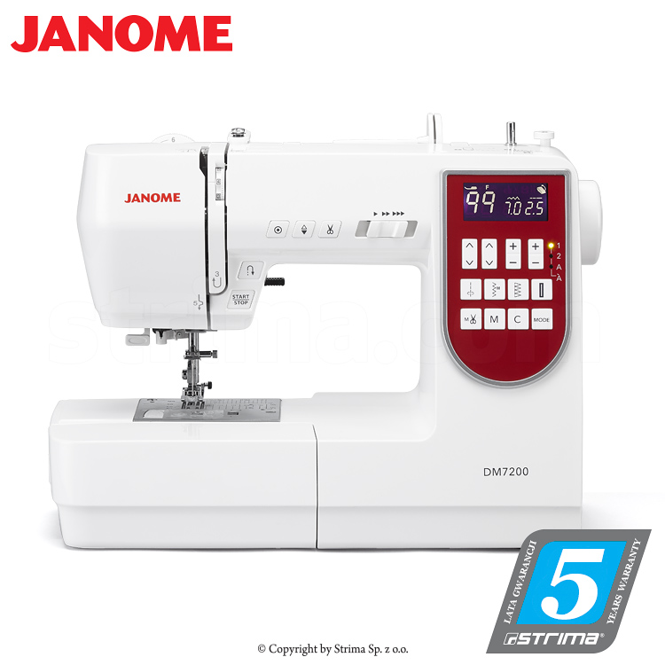 JANOME DM7200 - Computerized sewing machine