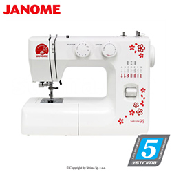 Multifunctional mechanical sewing machine, 15 stitches