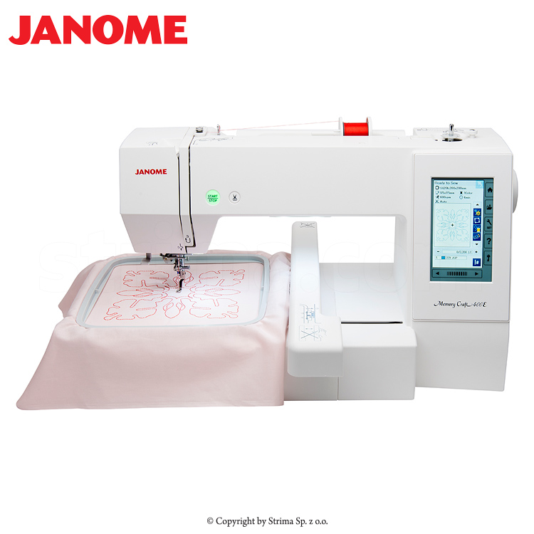 Janome memory craft 400e mbx set computerized embroidery for Janome memory craft 200e