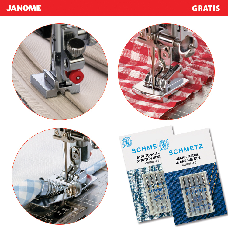 Multifunctional sewing machine for heavy materials
