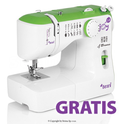 Multifunctional mechanical sewing machine, 13 stitches - promotional set