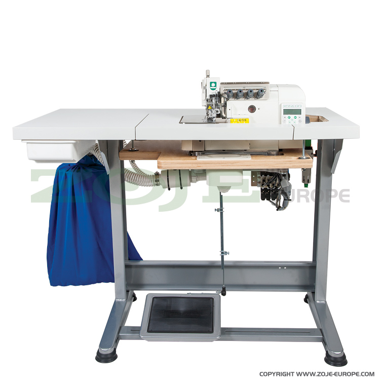 40thread Automatic Overlock Safety Stitch Machine Light And Gorgeous How To Set Up A Sewing Machine Table