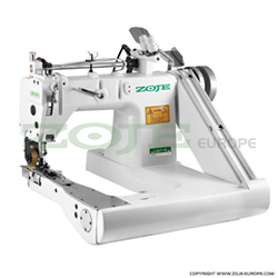 Feed-off-arm chainstitch machine with puller and energy-saving AC Servo motor - complete sewing machine - ZOJE ZJ927-PL 6.4mm SET