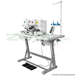 Pattern sewing machine with flip function - complete sewing machine