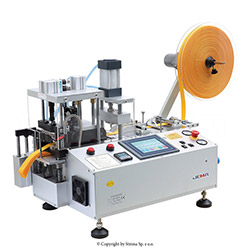 Automatic, multifunction hot & cold knife cutting machine (right angle) with automatic tape feeding with hole punching device