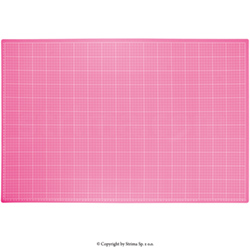 Self-healing cutting mat 90x60 cm, thickness 3 mm, pink - DW-12121 PINK