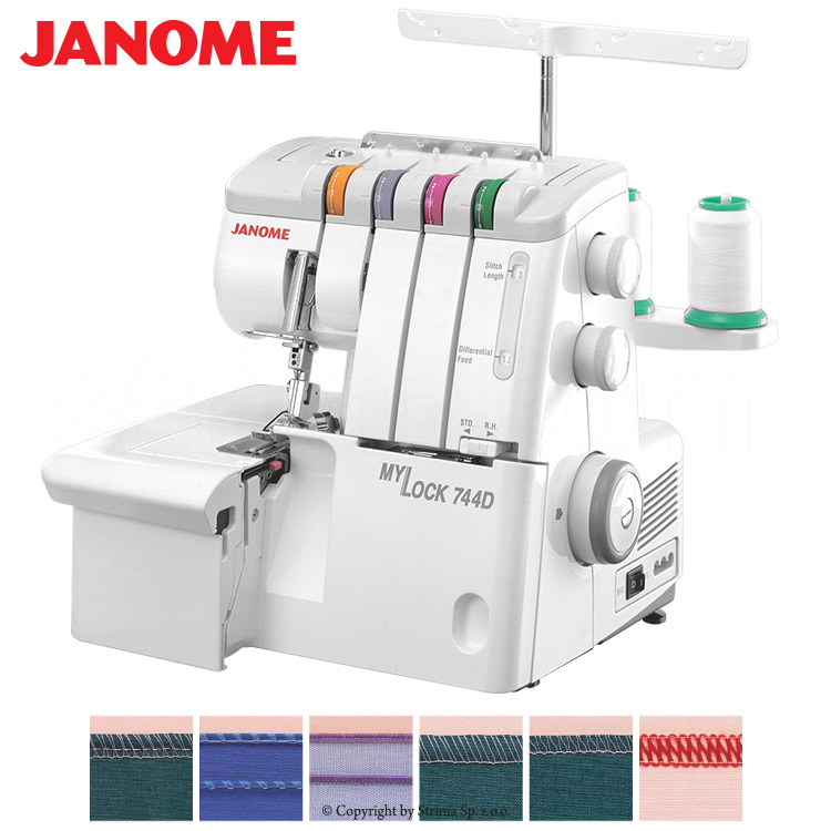 2, 3, 4- thread overlock machine - sewing machine