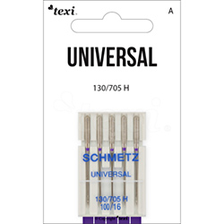 Universal needles for household machines, 5 pcs, size 100