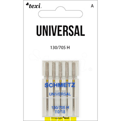 Universal needles for household machines, 5 pcs, size 110