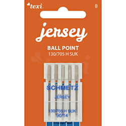 Ball point needles (medium ball) for household machines, 5 pcs, size 90