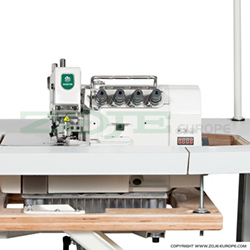 4-thread, mechatronic overlock machine with needles positioning - machine head - ZOJE ZJ893A-4-13H