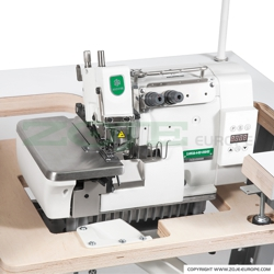 4-thread, mechatronic double chainstitch overlock machine with needles positioning - machine head - ZOJE ZJ893A-4-02x250-02