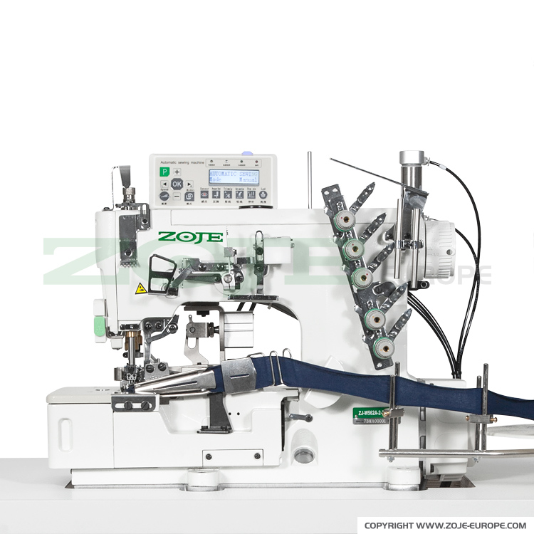 3-needle Flat Bed Coverstitch (interlock) Machine For