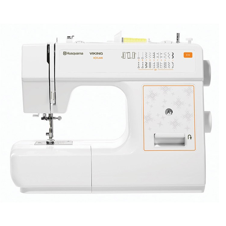 Multifunctional sewing machine, 21 sewing programs +4-step buttonhole program