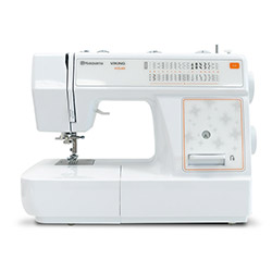 Multifunctional sewing machine, 32 sewing programs, automatic buttonhole program, automatic threader