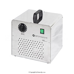 Ozone generator for sanitizing of rooms up to 80m3