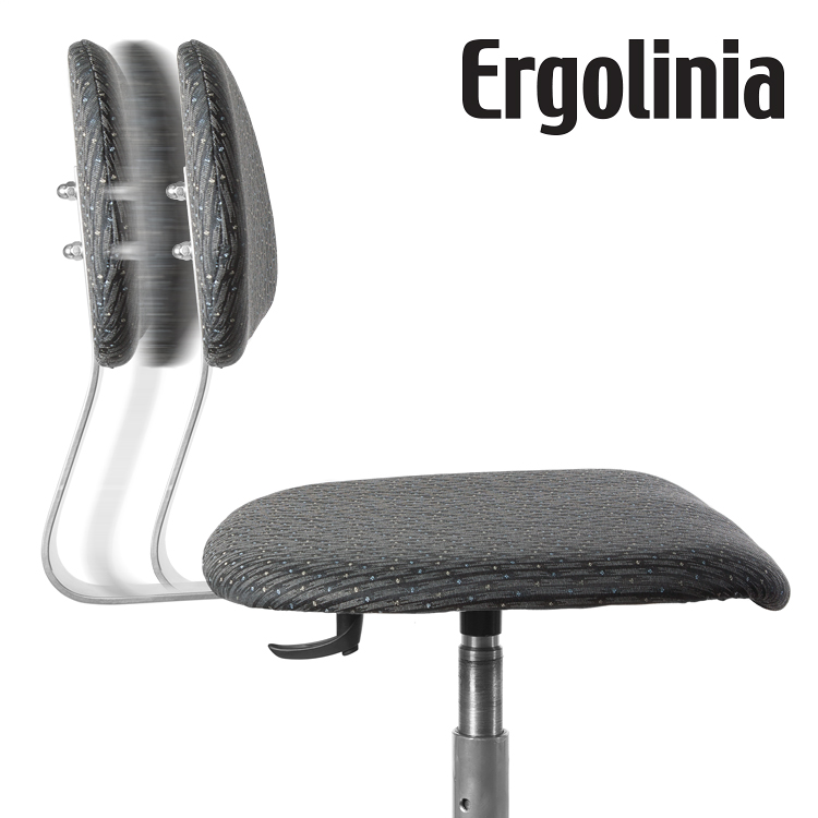 ERGOLINIA 10002 - Industrial rotary chair - upholstered