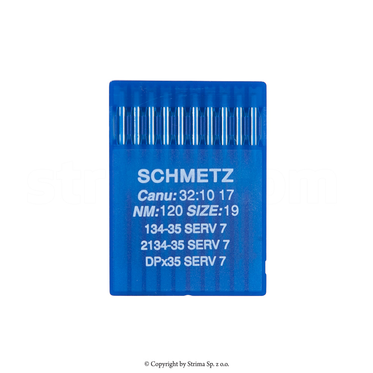 134-35 SERV 7 120 - SCHMETZ sewing machine needle G03, 1box = 100 pcs