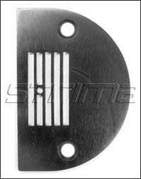 143402+ - Throat plate with 5 grooves
