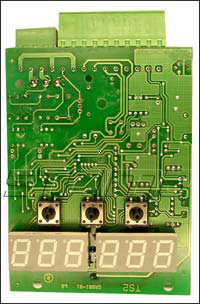 20643 - Electronic plate [time and temperature regulator] for SS120