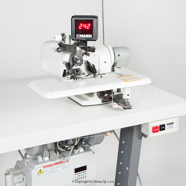 MAIER blind stitch machine - complete