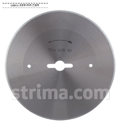 Round knife blade for DYDB, FA-200C, ST-360C - 2631 HSS