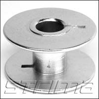 Bobbin ALU for bar taking machine and household machine (with long cut)
