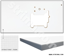 Table top for Siruba Z008 picoting chainstitch machine