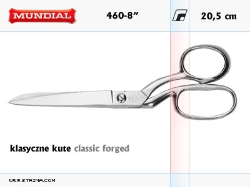 CLASSIC FORGED dressmaker shears