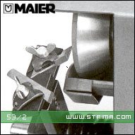 MAIER Diamond cup grinding wheel for knives, for machines 68/1, 82-100, 90 [L] - 53/2