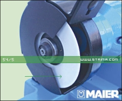 MAIER Saucer grinding wheel for knives, for machines 68/1, 82-100 [L] - 54/5