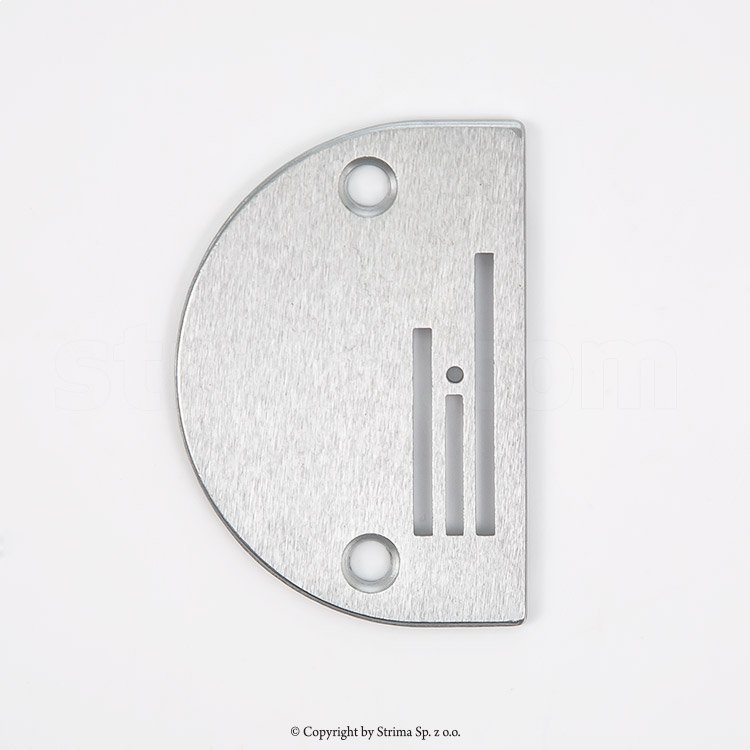 B1109-012-A00+ - Standard needle plate for lockstitch machines Juki, Siruba, Pfaff and others