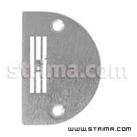Needle plate for light fabric for lockstitch machines Juki, Siruba, Pfaff and others - B1109-012-I00+