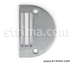 Throat plate for heavy fabrics, needle feed, for Juki