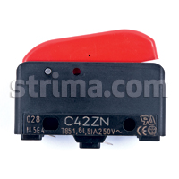 C 42 ZN - Micro switch for JOLLY iron and other industrial steam - electric irons