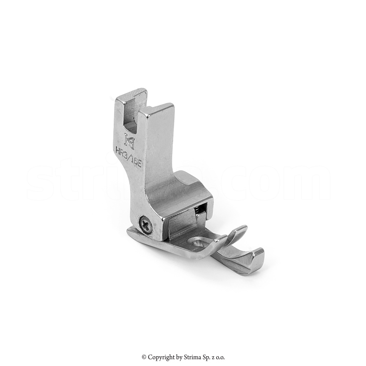 "HR3/16""E KH - Compensating foot, right, 4,8mm, for lockstitch for thick materials"