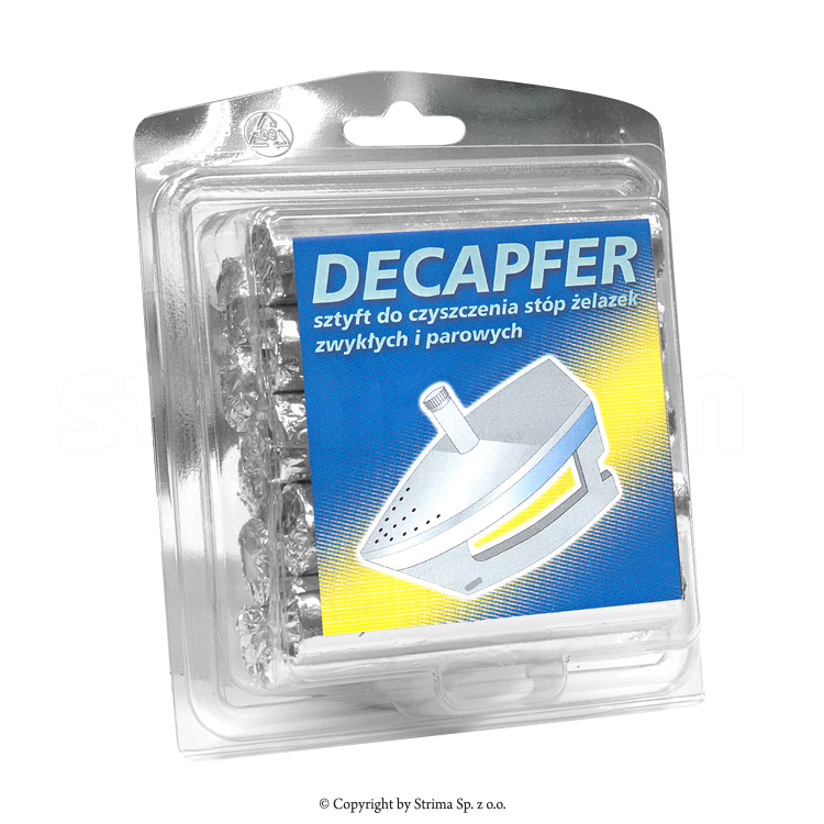 DECAPFER - INDUSTRIAL - Iron foot cleaning stick