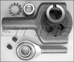 Connecting rod assy. with eccentric & bearing for F300A